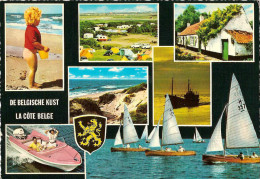 Lot 15 Kaarten - Belgische Kust - Côte Belge - Belgian Coast - Belgischen Küste. - 5 - 99 Postkaarten