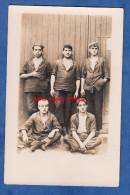 CPA photo - ORAN - Ouvriers marins - Marine Nationale ? voir uniforme - Photographie Royal Photo 24 rue d' Arzew