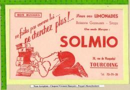 BUVARD : Pour Vos Limonades SOLMIO Tourcoing    Beau Graphisme - Softdrinks