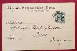 TRENTINO - CASTELLO DI MECCE O METZ E ROVINE FORTE ANNULLO MEZZOTEDESCO....1900 - Stamps