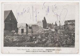 HANNESCAMPS - Ruines Le Long De La Route Allant A Mouchy (73406) - Andere Gemeenten