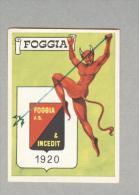 FOGGIA.....SCUDETTO FOLGORE...CALCIO ..MUNDIAL....SOCCER...WORLD CUP....FOOTBALL - Trading Cards