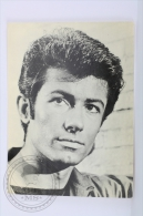 Original Vintage Cinema/ Movie Chromo/ Postcard - Actor: George Chakiris - Actores