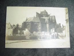 Cpa Guerre 1914 1918 Eglise Bombardée. - Guerre 1914-18