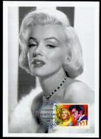 Madagascar/Madagaskari Marilyn Monroe on kind of Maximcard 1994.