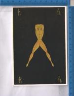 AB64256 ILLUSTRATA ERTE L'ALFABETO LETTERA H NUDI MASCHILI - Other Illustrators