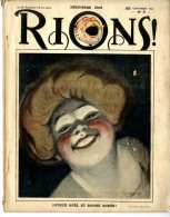 RIONS  -  CARICATURE  -  HUMOUR  -  1908  -  N° 9   -  CAPIELLO - Books, Magazines, Comics
