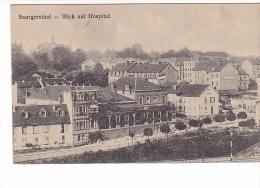 24156 ALLEMAGNE SARREGUEMINES / SAARGEMÜND, Blick Auf Hospital -éd F Luib -soldat Occupation - Sarreguemines