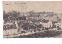 24156 ALLEMAGNE SARREGUEMINES / SAARGEMÜND, Blick Auf Hospital -éd F Luib -soldat Occupation