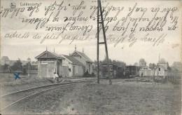 CULDESSARTS - CUL-DES-SARTS : La Gare - TRES RARE CPA - Cachet de la poste 1907