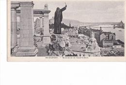 24158 BUDAPEST HONGRIE - Monument De Saint - Gellert -   (en Francais, Sans Editeur) - Hongrie