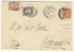 Tassata Con Lire 1 + 20 Cent - 1900-44 Vittorio Emanuele III