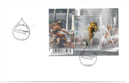 - A .2010 - Y.T.N° F.4440 - Feuillet Sur Enveloppe Oblitéré Fête Du Timbre Douai - - Blocs & Feuillets