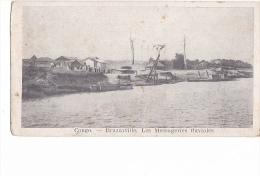 24159 CONGO : BRAZZAVILLE : Les Messageries Fluviales - Sans Editeur (7x14cm) - Congo Français - Autres
