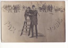 """Carte 1910 """"PAX VOBIS"""" Humour Satirique / Manifestations - Satira"""
