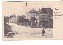 24160 VALAY  -sans Editeur - Centre Du Village Et Place De La Mairie Epicerie Centrale