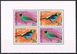 K603 FAUNA VOGELS BIRDS OISEAUX VÖGEL AVES SURINAME 1973 PF/MNH - Oiseaux