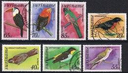 K605 FAUNA VOGELS BIRDS OISEAUX VÖGEL AVES 1977 Gebr / Used - Oiseaux