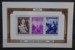 BELGIE  1949     BLOK  28  Van der Weyden    Postfris **      CW  190,00