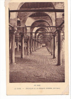 24166  -art Arabe- Le Caire -interieur Mosquée Amrou -braun Cie Paris - Le Caire