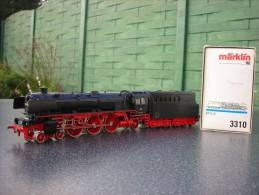 HO Marklin Locomotive Vapeur BR 012 En Bon état 012 081-6 - Locomotives