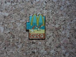 PINS MC DO MC DONALD'S PLAGE CHAR A VOILE CUCQ (62) - McDonald's