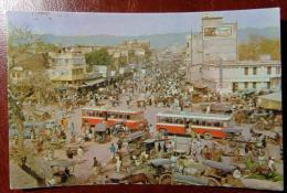 PAKISTAN 1978 18 Maggio RAWALPINDI RAJA BAZAR - Cartolina Animata Viaggiata X ROMA ITALIA - VEDI FOTO - Pakistan