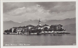 Italie -  Stresa Borromeo - Isola Pescatori - Verbania