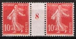 France 1929 - Millésime 8 Du N° 138 Semeuse Camée - Neuf * - Millesimes