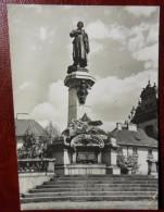 POLONIA 1979 WARSZAWA Pomnik Adama Mickiewicza cartolina viaggiata x GALATONE LECCE ITALIA - vedi foto