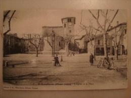 """SAINT SYMPHORIEN D´OZON """" L'église Et La Place"""" - Autres Communes"""