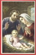 CARTOLINA NV ITALIA - BUON NATALE - Natività - Sacra Famiglia - 9 X 14 - Natale