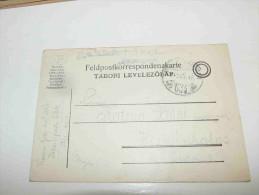 Austria Österreich Hungary Magyarország Tábori Posta Feldpostkarte K.u.k. Infanterie Regiment Feldpost 634 1917 - Usados