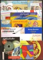 """EUROPA 2010- TEMA ANUAL """"LIBROS INFANTILES"""" - COLECCIÓN  DE LOS 17 CARNETS  OFICIALES  EMITIDOS POR 16 PAISES - Colecciones"""