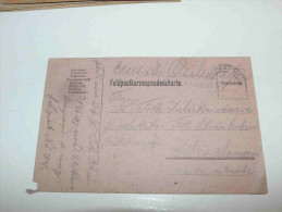Austria Österreich Hungary Magyarország Tábori Posta Feldpostkarte K.u.k. Feldpost 78 Békéssámson 1916 - Usados