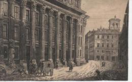 ROMA  ROME Temple De Neptune Aujourd´hui Bourse Du Travail  - Gravé Par François Piranesi (1748-1810) - Altri Monumenti, Edifici
