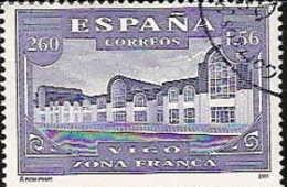 España U 3816sh (o) SH. Exfilna. Vigo.2001 - 2001-10 Usados