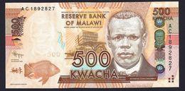 MALAWI  : Banconota 500 Kwacha - 2012 - FDS - Malawi