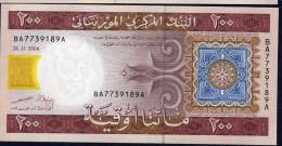 MAURITANIA   :  200 Ouguiya - P11a - 2004 - UNC - Mauritania