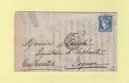 Paris - Etoile 10 - R. Du Cherche Midi - 4 Juin 1874 - Marcophilie (Lettres)
