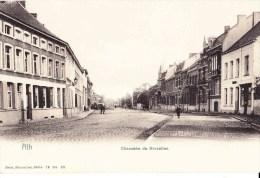 ATH - Chaussée De Bruxelles - Carte Circulée 1905 - Ath