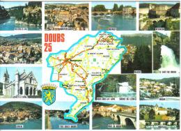 Carte Postale Département  25. Doubs  Trés Beau Plan - Corrida