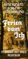 Broschüre 2500 Baden Bei Wien Schloß Gutenbrunn Ferien Vom Ich Österreich Hotel Niederösterreich Prospekt Folder - Reiseprospekte
