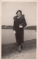 64 - SAINT JEAN DE LUZ / CARTE PHOTO AU BORD DE LA RUELLE EN AVRIL 1940 - Saint Jean De Luz
