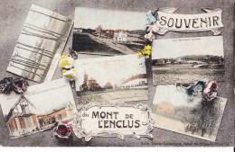 Souvenir Du MONT DE L'ENCLUS - Carte En 6 Vues Colorée - Mont-de-l'Enclus
