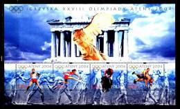 POLONIA - POLSKA - Sheet Olimpic Games Di ATENE 2004 - Year 2004  - Complete  Set - Nuovo - News -MNH**.. - Blocchi E Foglietti