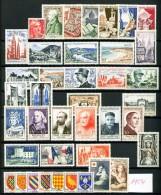 FRANCE - Année Complète 1954 - N° 968 à 1007 - Neufs N** - Cote : 325 Euros - Très Beaux - France