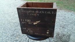 Caisse à Munition US En Bois, CAL 50, WWII - Equipment