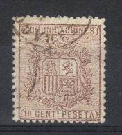 N° 151 Yvert , N° 153 Tipo 2  Edifil    (1874) - Oblitérés