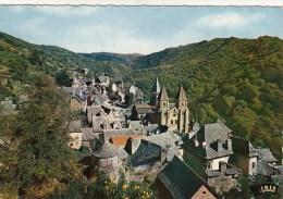 12 - CONQUES - Vue Générale Etape De Pèlerinages De Saint De Compostelle Du XIe Au XIIIe Siècle - Autres Communes